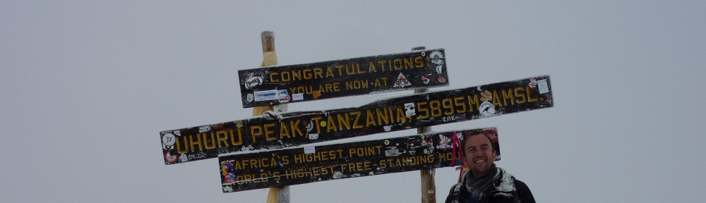 To Kilimanjaro (and beyond?)