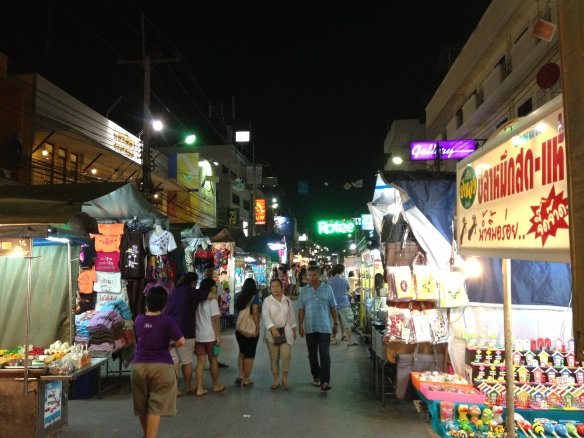 At the night market, Hua Hin. Fascinating!