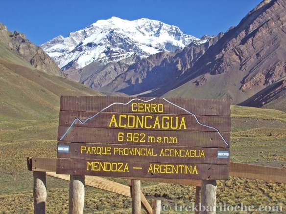 Aconcagua - so far away still......but getting nearer.