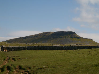 Pen-Y-Ghent - doesn't sound like it belongs in Yorkshire to me...