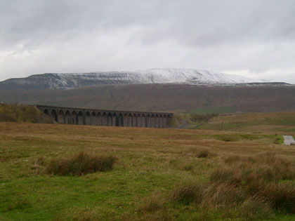 Whernside, North Yorkshire's highest point.