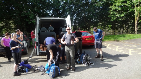 Suncream at the ready, and sandwiches packed, it is time to leave the van behind again...