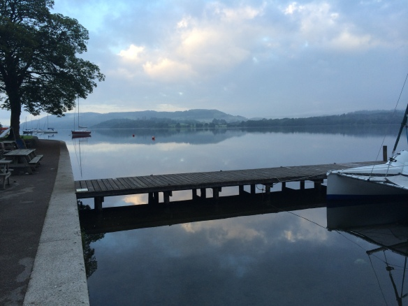 Looking south over Windermere, 8th June 2014, 5.30am....