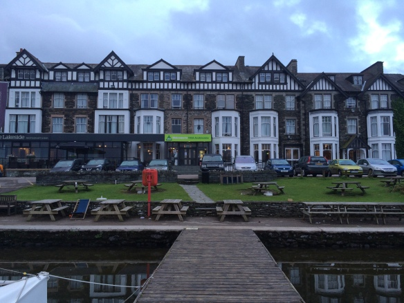 Ambleside Youth Hostel - a really great location overall - I stayed there only once before, when I was 16!