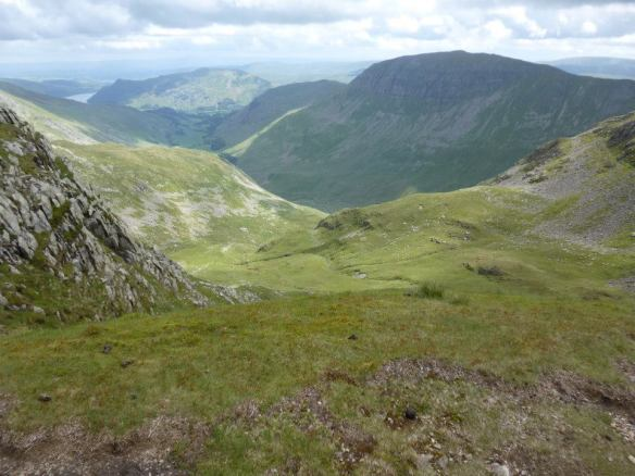 View towards Ullswater from Nethermost Pike
