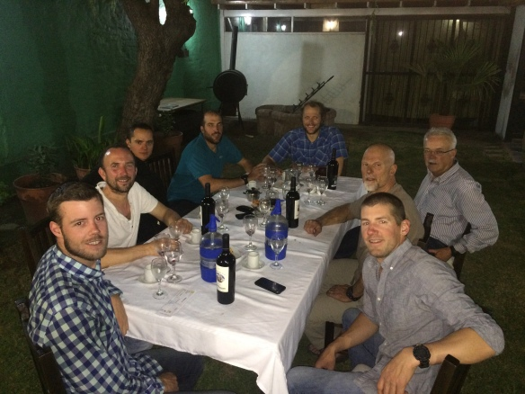 The 'last supper', our celebration in Mendoza - probably the best meal I have ever eaten. No, definitely the best!
