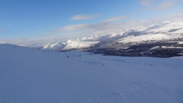 Looking down towards Fort William.