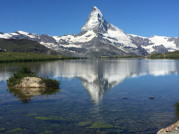 The Stellisee, at 2,537m. I can see why it is so incredibly popular!