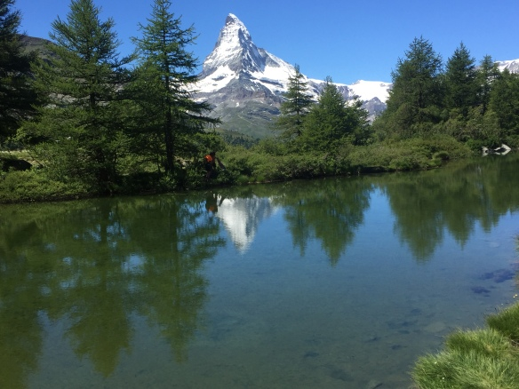 The Grinjisee, tranquil and stunningly beautiful in equal measures.